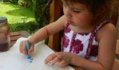 Textilmalerei mit Kindern