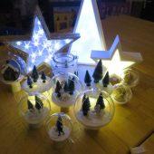 Leuchtobjekte + Dekokugeln