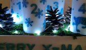 DIY – Upcycling Mandarinenkiste</br>Adventskranz mal ganz anders