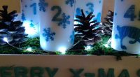 DIY – Upcycling Mandarinenkiste</br>Adventskranz mal ganz anders