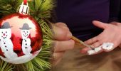 DIY – Schneemannweihnachtskugel