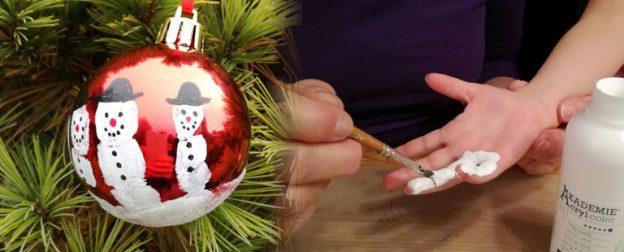 schneemannweihnachtskugel