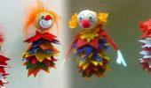 DIY – Karnevals-Clowns aus Filz