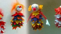 DIY – Karnevals-Clowns aus Filz