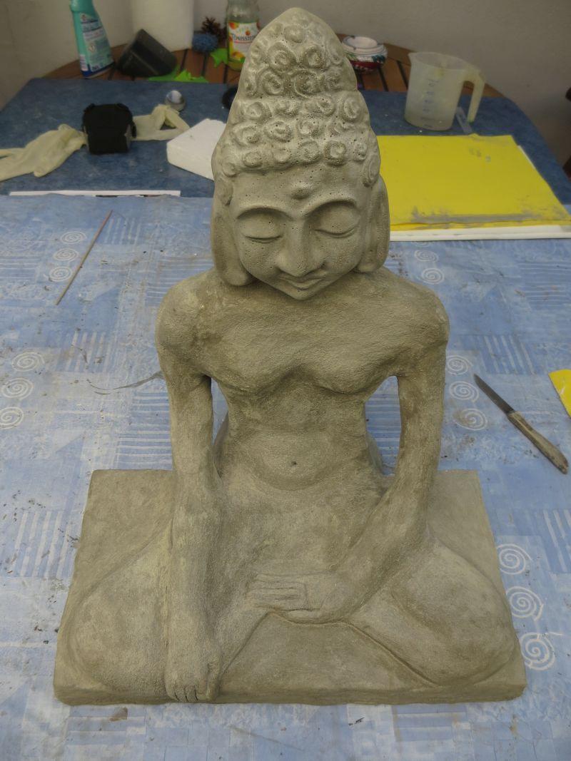 DIY – Buddha Statue aus Knetbeton | HOBBYmade Bastelbedarf