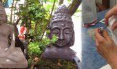 DIY – Buddha Statue aus Knetbeton