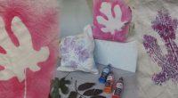 DIY – herbstlicher Einkaufsbeutel mit Textilsprühfarbe
