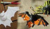 DIY – Decopatch Spinne und Fledermaus