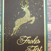 weihnachtskarte-hirsch-gold