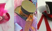DIY – Karnevals-Hut aus Moosgummi