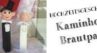 DIY – Kaminholz-Brautpaar