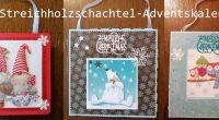 DIY – Streichholzschachtel Adventskalender