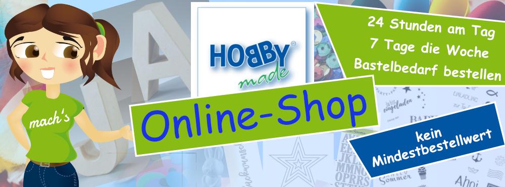 hobbymade bastelbedarf onlineshop