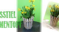 DIY – Eisstiel Blumentopf