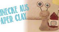 DIY – Paperclay Schnecke