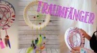 DIY – Traumfänger aus Pappteller