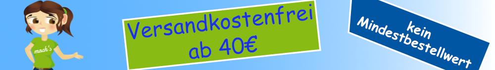 Versandkostenfrei ab 40€